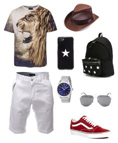 """""""created by my lil bro"""" by samgumgee on Polyvore featuring Vans, Steve Madden, Yves Saint Laurent, Givenchy, men's fashion and menswear"""