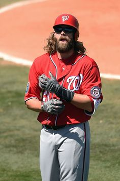 Jayson Werth Photos - Washington Nationals v Houston Astros - Zimbio