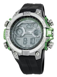 0dc75e8551f Burgmeister Mens BM800112D Digital Power Alarm Chronograph Watch     To  view further for this