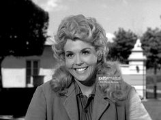 Donna Douglas as Elly May Clampett in THE BEVERLY HILLBILLIES episode, 'Granny's Garden.' Original airdate, October 9, 1963. Image is a frame grab.