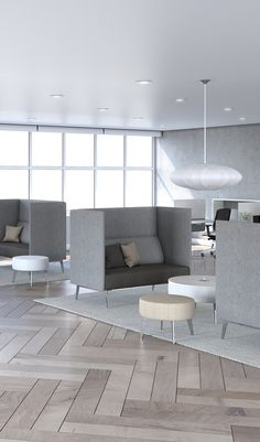 Combine rectangular, square, curved and round elements to meet your needs and reinvent your spaces with Hip Hop