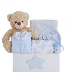Canastilla de bebé Bahía - azul