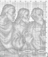 "Gallery.ru / geminiana - Альбом ""25.155"" Cross Stitch Patterns, 1, Santa, Lily, Angel, Christ, Angels And Fairies, Christmas Crafts, Dots"