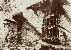skull shrines solomon islands