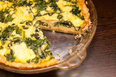 Market to Meal: Spinach and Cheese Quiche