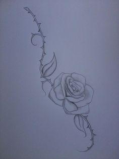 rose thorn tattoo sample by VaMpIr3-KiSs3s.deviantart.com on @deviantART