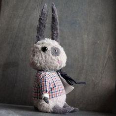 Маленький мальчик , зайчик Филипп ❤ #мальчикзайчик #теддитанибурсюк #тедди #заяц #ручнаяработа #ярмаркамастеров #единственныйэкземпляр #серый