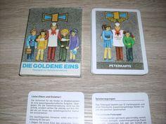 Die Goldene eins Lehrquartett unbenutzt Karten Altenburg DDR Peterspiel ab 1 EUR