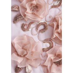 #flowers #sequins #hautecouture