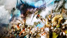 Wallpaper HD Final Fantasy XIV A Realm Reborn #FinalFantasyXIV
