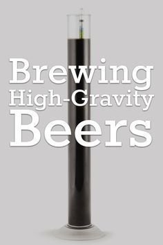 Here are 3 common problems that can affect big beer and suggestions for how to overcome them and make high-gravity brewing your own. https://beerandbrewing.com/VJilnisAACgA3TtS/article/defy-gravity-brewing-high-gravity-beers