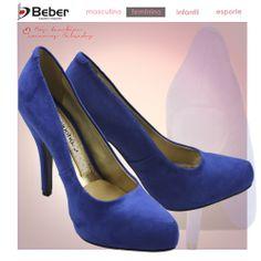 Que tal um Sapato Miucha?? Ele é lindo, confeccionado em material alternativo têxtil, palmilha em PU macia. A cor azul significa tranquilidade, serenidade e harmonia. Perfeito para compor looks Formais. https://www.facebook.com/lojasbeber https://plus.google.com/u/0/108895303695321285235/posts