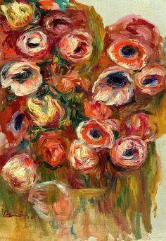 Anemones - Pierre-Auguste Renoir