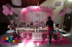 - Victoria Decoração Infantil -: Bonecas de Pano Marrom e rosa - Laura