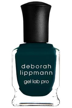 Dark Teal Nail Polish: Peacock blue is one of the greatest fall nail polish colors for modern brides. It has the whimsy of green and teal, but it's a deep enough shade to stay subtle. It's the perfect color for the bride looking to make a bold yet classic statement with her bridal manicure.