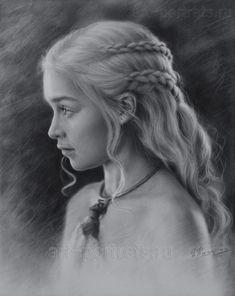 Daenerys Targaryen... Madre de Dragones...en Juego de Tronos., (Emilia Clarke)