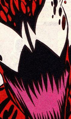 C A R N A G E (Amazing Spider-Man #379, July 1993) - Mark Bagley (pencils), Rndy Emberlin (inks) & Bob Sharen (colors)