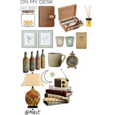 On My Desk by miast on Polyvore