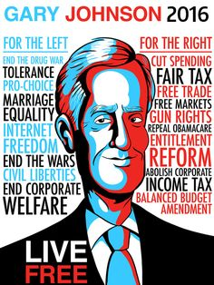 Hey republicans-there is another choice! I'm for Hillary, but I could live with this guy being president Freedom Girl, 2016 Presidential Election, 2016 Election, Gun Rights, Civil Rights, Pro Choice, Live Free, Constitution, New Mexico