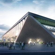 MLZD and Sollberger Bögli to design new Lausanne football stadium #Architecture