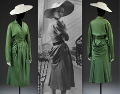 1947 New Look Day Dress by Dior