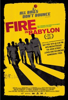 Fire in Babylon: http://fireinbabylon.com/ . The story of the West Indies cricket team taking a tool of their colonizer and making it a symbol of resistance. Fantastic film.