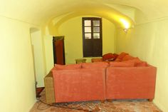 Kaminzimmer mit kleinem Balkon zur Via Maraldi