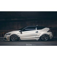 That CR-Z doh! #honda #crz #stance by thelowerlife