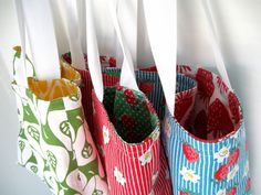 PDF; Tea Towel Tote Sewing Guide, £3.95