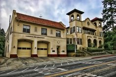Larkspur California Fire Station