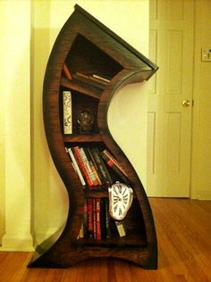 .Whimsical book shelf for the new house! .. i would love to have this beside my staircase.. ♥♥