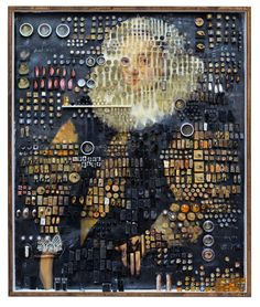 Dutch Masters — Michael Mapes Collages, Narrative Photography, Food Sculpture, Pill Organizer, Petri Dish, Paint Samples, Drawing People, Abstract Wall Art, Line Art