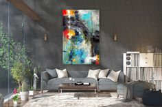 Large Abstract wall art,Original Abstract wall art,large art on canvas,xl abstract painting,abstract wall art Oversized Wall Decor, Oversized Canvas Art, Large Abstract Wall Art, Large Wall Art, Large Painting, Painting Canvas, Large Art, Large Canvas, Textured Painting