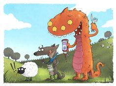 karl west illustration - Google Search