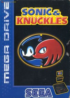Sonic and Knuckles Game Cartridge 16 bit MD Game Card With Retail Box For Sega Mega Drive For Genesis Sega Mega Drive, Mega Drive Games, Epic Games, Sonic & Knuckles, Sonic Team, Game Sonic, 90s Video Games, Video Game Art, Game Art