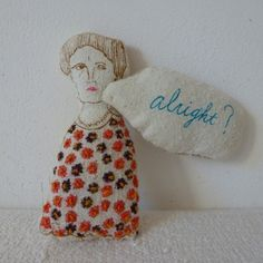 Alright Brooch - Shino Suzuki