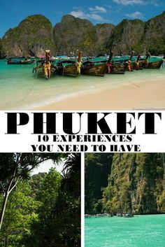 Visiting Thailand   10 Experiences You Need To Have In Phuket   Its All Bee