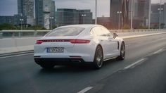 Porsche: The new Panamera 4 E-Hybrid. Courage changes everything. New Panamera, Porsche Panamera 4, New Porsche, Porsche Cars, Moving To Germany, Combustion Engine, Bratislava, Car In The World, Car Photography