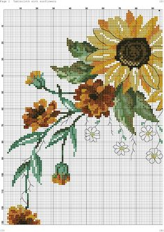 2/11 Cross Stitch Designs, Cross Stitch Patterns, Diy And Crafts, Crafts For Kids, Rico Design, Crochet Tablecloth, Cross Stitch Flowers, Tapestry, Embroidery