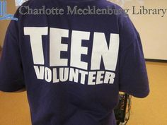 Teen volunteers gain valuable experiences and are mentored by adults at the library.