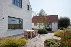 Belgium Country, Open Concept Office, Large Scale Art, Steel Windows, Home Comforts, Brick And Stone, Facade House, Architecture, My Dream Home
