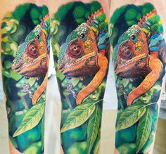 Realistic Animal Tattoo by Gunnar V Tattoo | Tattoo No. 12839