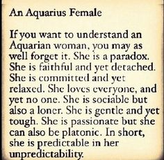 I don't do zodiac stuff but this is me to a T...