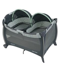 Love this Mason Pack 'n Play® with Twin Bassinets by Graco on #zulily! #zulilyfinds