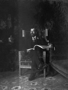 Nicholas II, 1903. (x)
