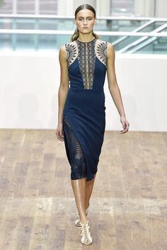 Julien Macdonald RTW Spring 2015 | photo by Giovanni Giannoni | posted by WWD