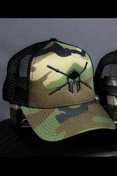Go To War Camo Trucker Hat