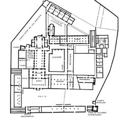 Monasterio de Cluny (Francia), siglos X-XII. Pertenece a la orden benedictina y funcionaban con total autonomía, al modo de las villae romanas.