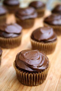 "Vegan Chocolate Cupcakes | Chocolate Cupcakes With Avocado ""Buttercream"" Frosting"