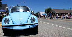 Footloose Festival, Elmore City, OK.  The original Volkswagen.